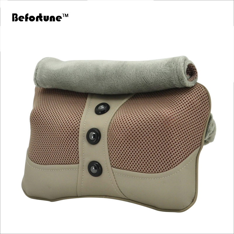 все цены на Car and home magnetite Heating neck massage Relaxation pillow Car Seat Covers BF1601 онлайн