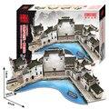 3D головоломки бумаги модель здания DIY игрушки игры подарок дикий Китай Аньхой дом хуэйчжоу стиле резиденций зодчество мира большое набор