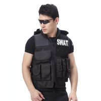 Phalanx gear Military Gear Men's SWAT Airsoft Tactical Hunting Combat Vest With Removable Adiustable Paintball