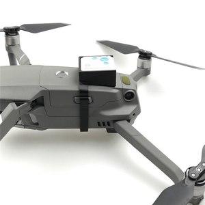 Image 1 - For DJI MAVIC 2 Pro/ Zoom GPS Tracker Bracket Holder Anti lost Fixator Protector Mount Holder For MAVIC 2 Drone Accessories