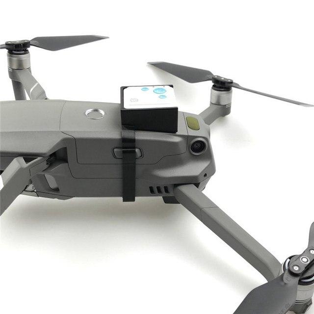 For DJI MAVIC 2 Pro/ Zoom GPS Tracker Bracket Holder Anti lost Fixator Protector Mount Holder For MAVIC 2 Drone Accessories