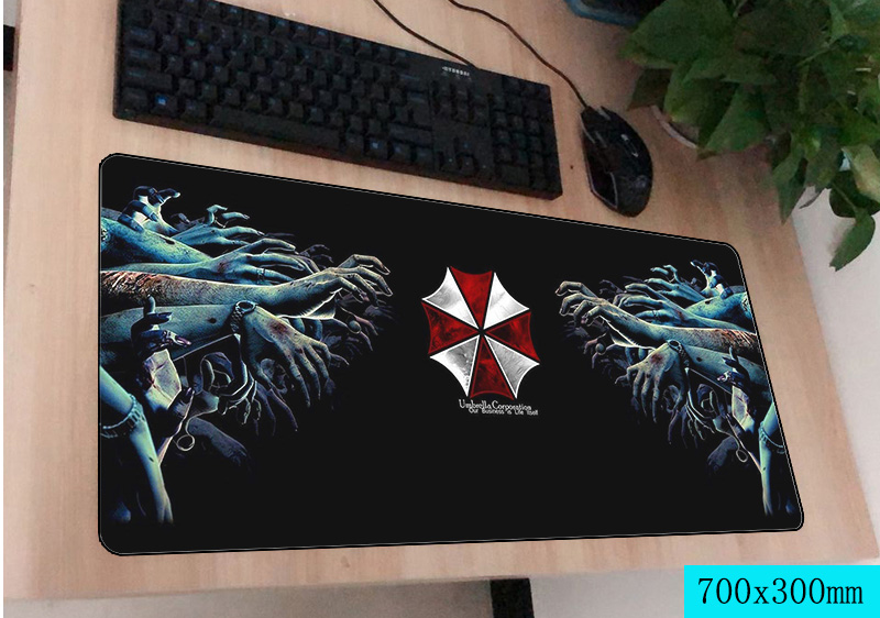 Useful Mairuige Resident Evil Series Video Game Movie Pattern Mousepad Umbrella Logo Printed Mini Pc Laptop Gaming Mouse Mat Table Pad Computer & Office