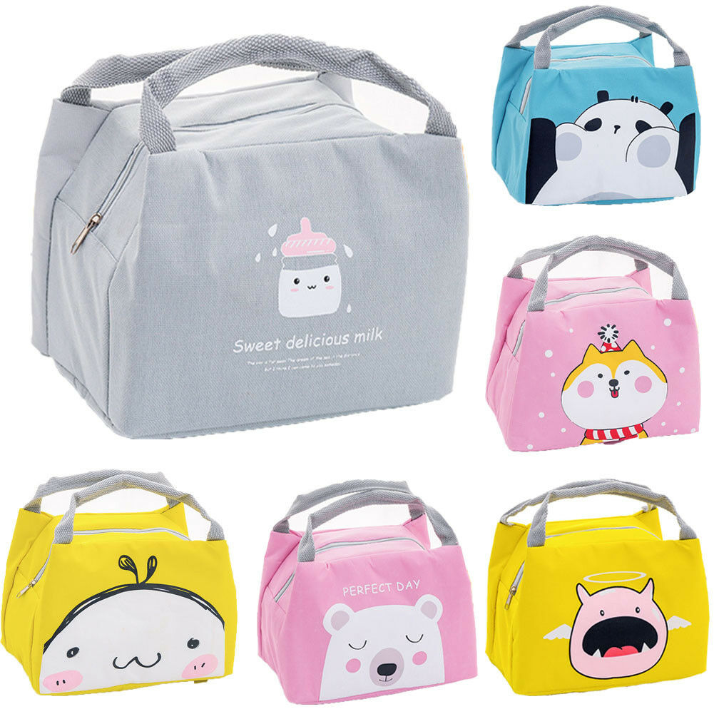 Cute Women Ladies Girls Kids Portable Insulated Lunch Bag Box Picnic Tote Cooler Insulated Thermal Cooler Bento Lunch Box ToteCute Women Ladies Girls Kids Portable Insulated Lunch Bag Box Picnic Tote Cooler Insulated Thermal Cooler Bento Lunch Box Tote
