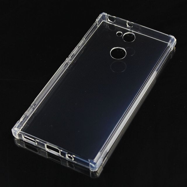 lowest price 193cd c99ae US $4.5 |Transparent For Sony Xperia XA2 Ultra Case+Tempered Glass Soft TPU  Gel Skin Silicone Protection Shell Cover-in Phone Pouch from Cellphones &  ...