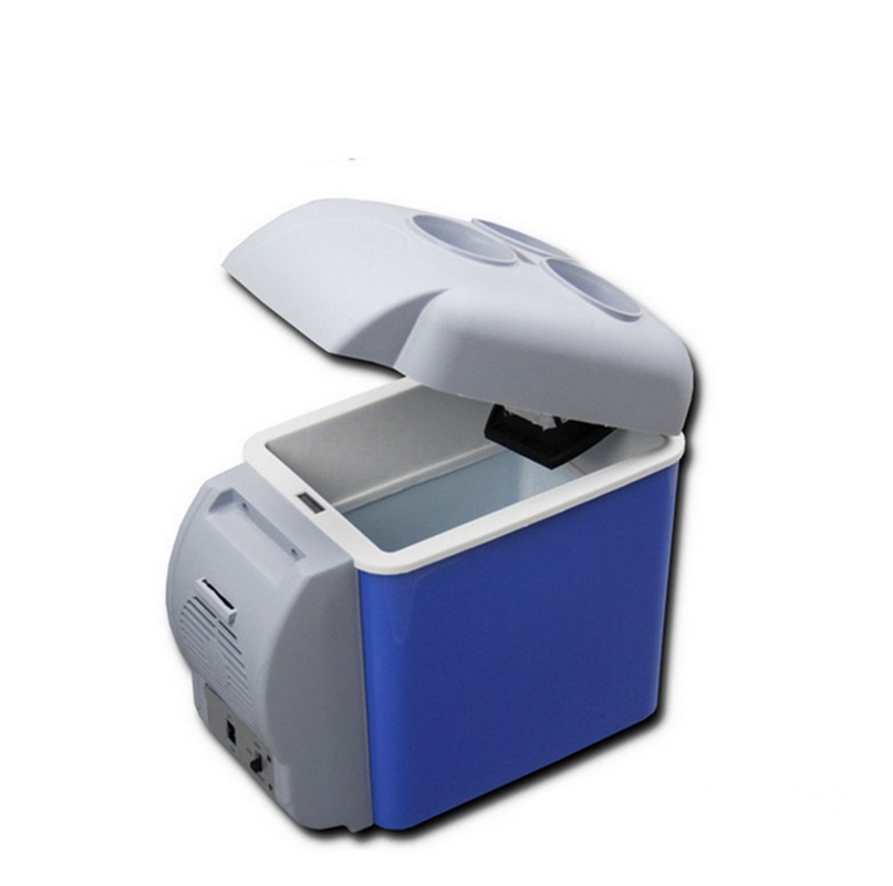 Original 7.5L Mini Car Refrigerator Multi-Function Dual-Mode Cooler Warmer Temperature Control Vehicular Fridge Home Travel Use
