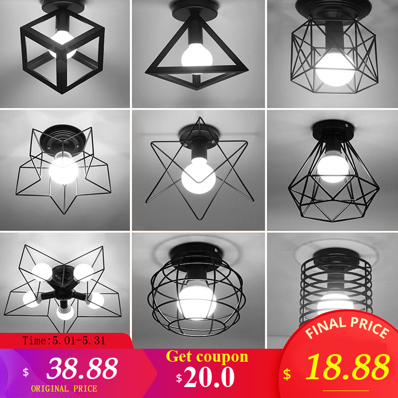 Modern Ceiling light ceiling lamp loft decor lamp Industrial style Metal home lighting bedroom Kitchen livingroom light fixturesModern Ceiling light ceiling lamp loft decor lamp Industrial style Metal home lighting bedroom Kitchen livingroom light fixtures