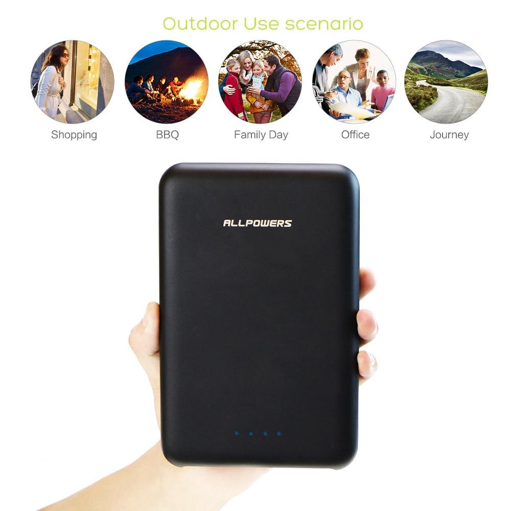 imágenes para ALLPOWERS 30000 mAh Banco de Potencia de Alta Capacidad Triple USB Portátil Cargador de Batería Externo de Carga Rápida para Móviles Tablets etc.