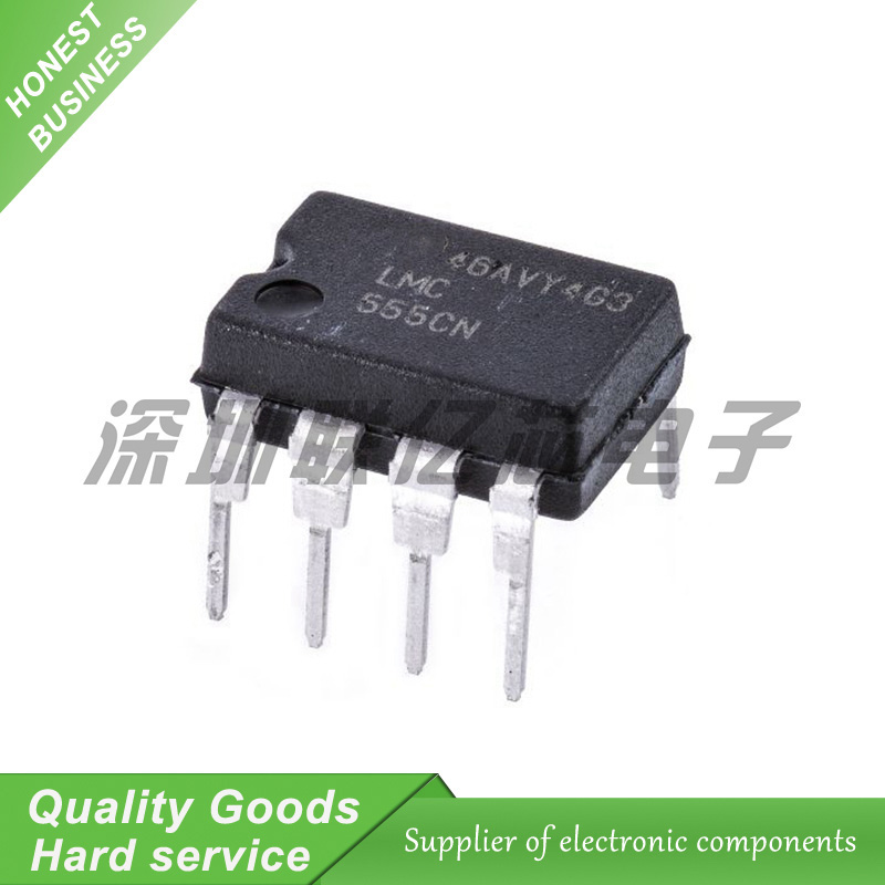 20PCS  LMC555CN LMC555C LMC555 DIP8