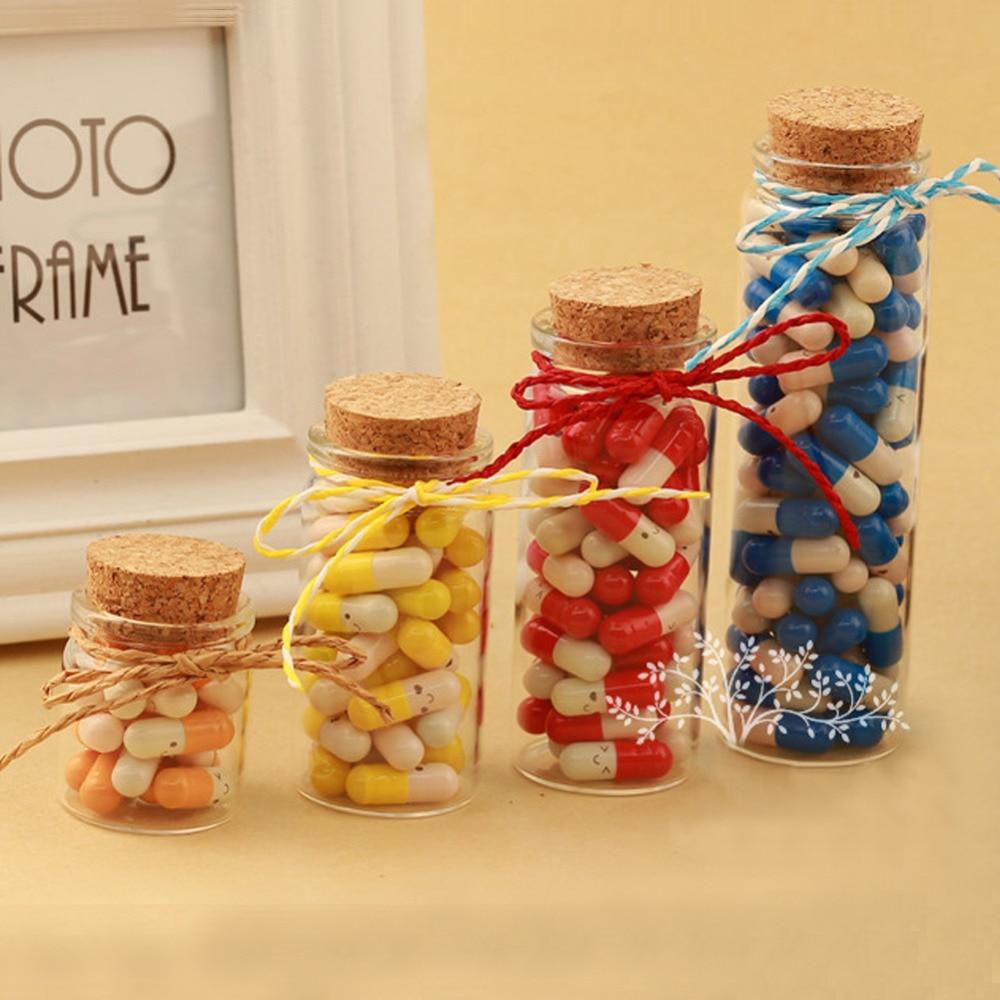20ml 50ml 65ml 90ml glasflaskor för Weding Holiday Decoration - Heminredning - Foto 1