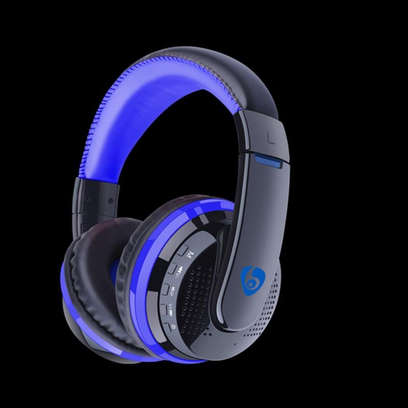 imágenes para Desxz MX666 Bluetooth Auriculares Juego Auriculares Estéreo Inalámbrico Super Bass Auriculares Diadema Auricular con Micrófono