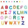 26 Cartas Imán kid Juguetes educativos Del Bebé de Navidad Juguetes de madera Puzzles Juguetes y Pasatiempos juguetes brinquedos para as crianças