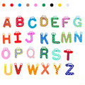 26 Letras Imã kid Brinquedo Educacional Do Bebê Brinquedos de Natal Brinquedos & Hobbies Puzzles brinquedos de madeira brinquedos parágrafo como criancas