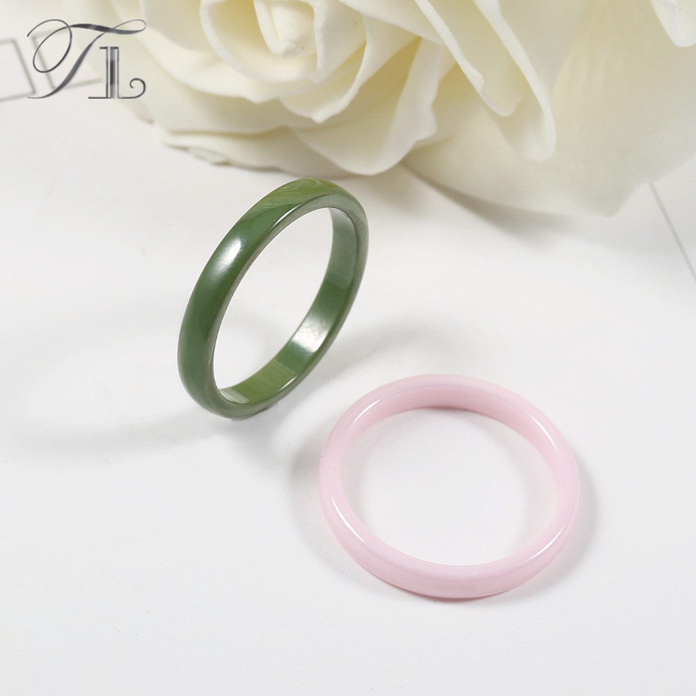 for a rings design setting cabochon products cute n women new white zircon unique wedding simple arrival ceramic black huge