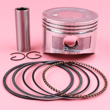 цены 68mm Piston Pin Rings Circlip Kit For Honda GX160 GX 160 5.5HP 4 Stroke Lawn Mower Small Engine Motor Spare Tool Replace Part