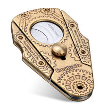 Портативные ножницы для сигар с двойной оправой
