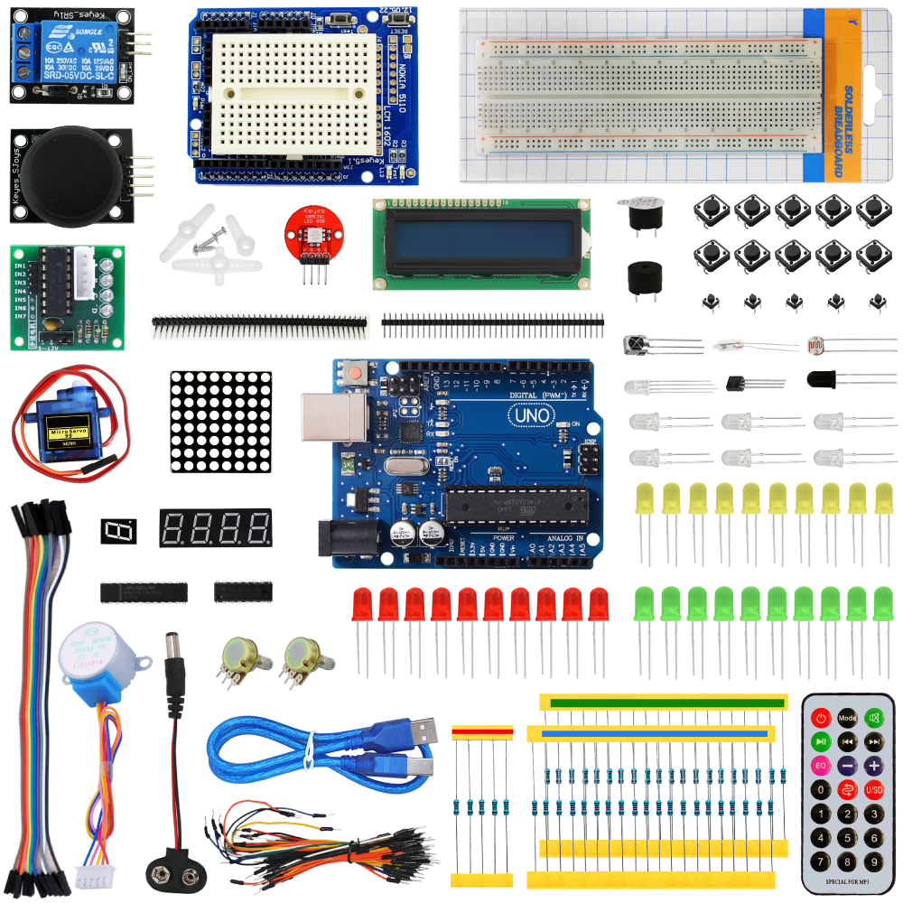 KEYES starter learning kit for Arduino with UNO R3 development boardKEYES starter learning kit for Arduino with UNO R3 development board
