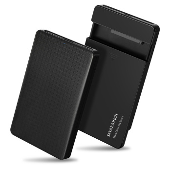EYOOLD HDD Case 2.5 inch SATA to USB 3.0 SSD Adapter for SSD 2TB Type C Hard Disk Drive Box External HDD Enclosure tool free 10gb s usb 3 1 type c hdd enclosure with ventilation holes sata 3 0 ssd mobile box usb c to sata 6gb s case asm1351