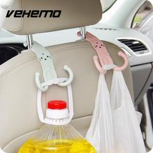 Vehemo 1 шт. милый крючок в изголовье вешалка Автомобильная мультфильм дизайн Органайзер детали для сумок аксессуары случайный