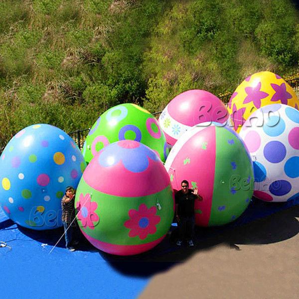 Z127 Frete grátis Whole sale 3 m altura inflável gigante ovos de páscoa, ovo inflável/Ovos de Páscoa Balões para a decoração de eventos,