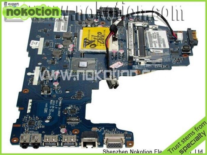 все цены на  Laptop Motherboard for Toshiba C660 C660-1F1 K000111440 DDR3 Integrated K000111440 PWWAA LA-6842P Mainboard  онлайн