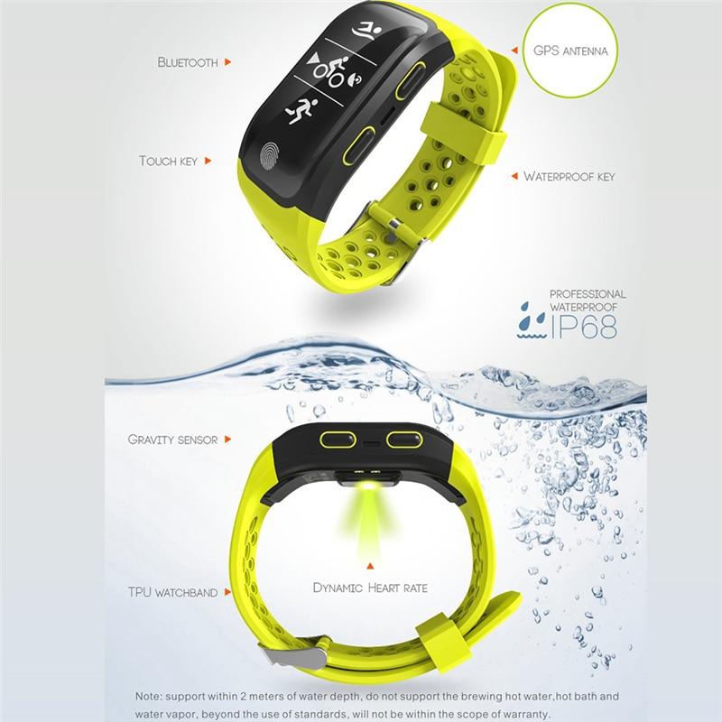 Original TTLIFE S908 Smart Watch Waterproof IP68 Bracelet Fitness Tracker Heart Rate Pulsometer Gps Bluetooth for phones Xiaomi
