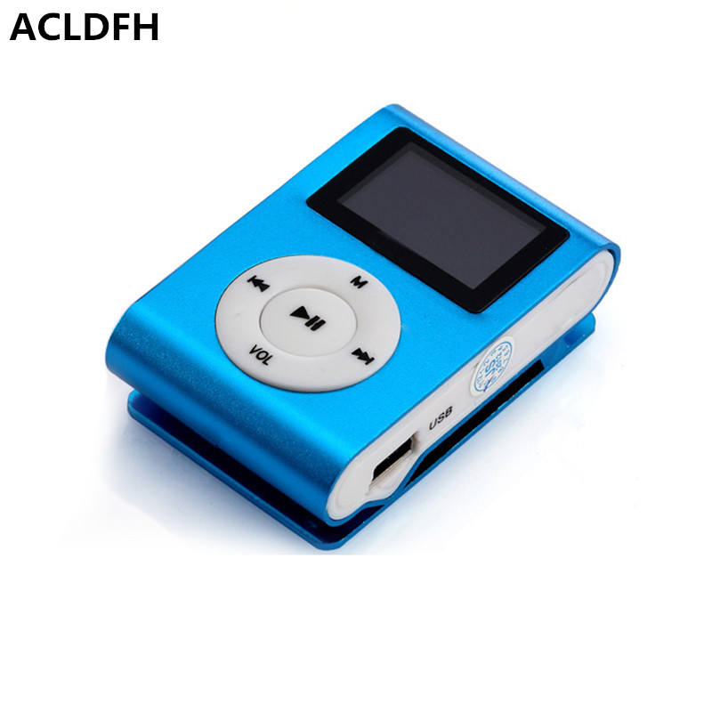 Mp3 Player Mini Lettore Lcd Bildschirm Mp 3 Musik Musica Clip Reproductor Kinder Speler Aux