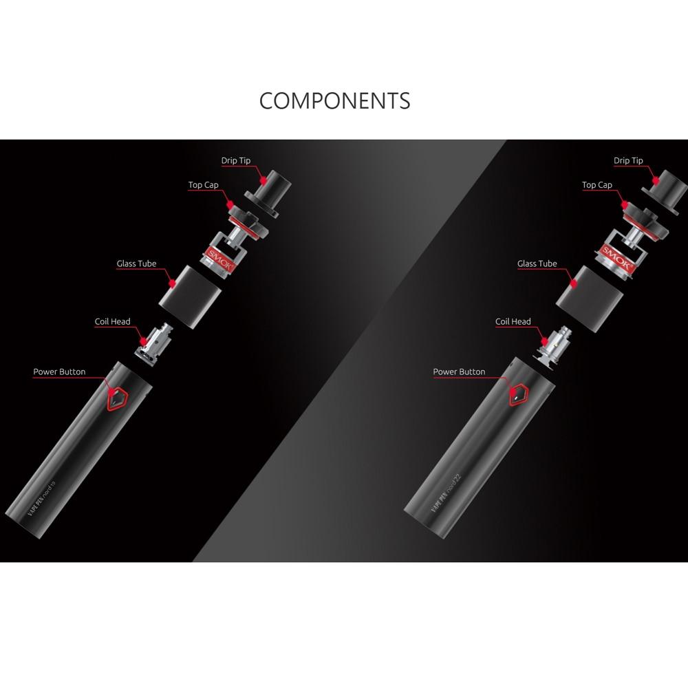 טלוויזיות 25-29 ערכת Vape החדש SMOK Vape עט Nord 19 קיט 1300mAh סוללה 2ml מרסס אש מהירה סיגריה אלקטרונית ערכת Vape vs עט vape 22 (4)