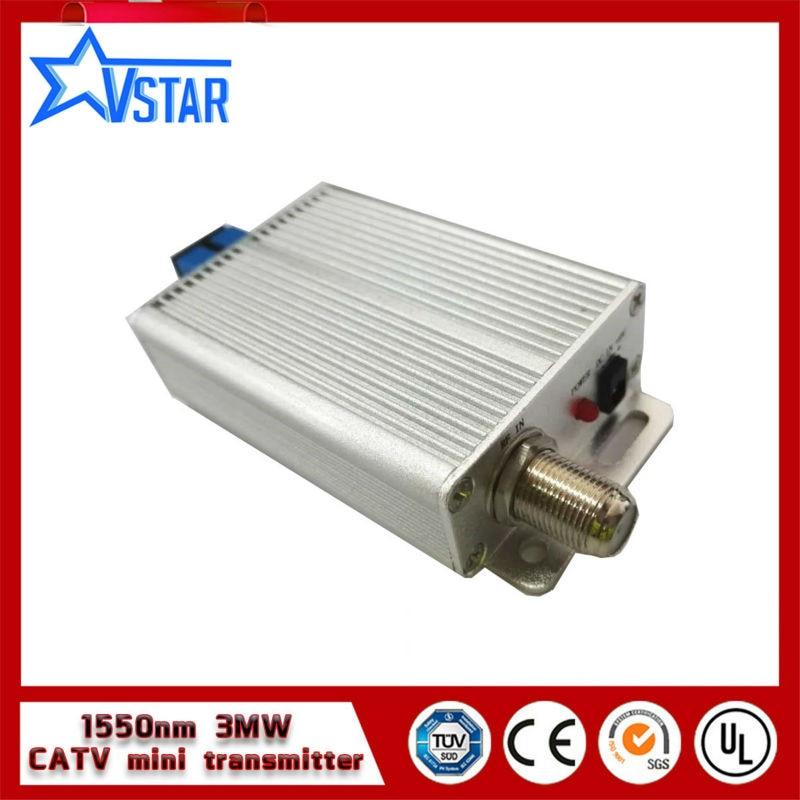 Mini CATV FTTH 1550nm transmisor óptico 6 MW