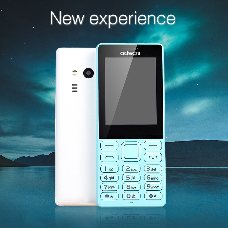 Foreign language 216 2.4 inch WhatsAPP double card double waiting big button four-band mobile phone feature phone