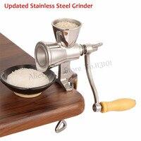 Updated Corn Miller Stainless Steel Grinding Machine Peanut Soybean Walnut Coffee Bean Grinder No Cast Iron No Aluminum Hot Sale