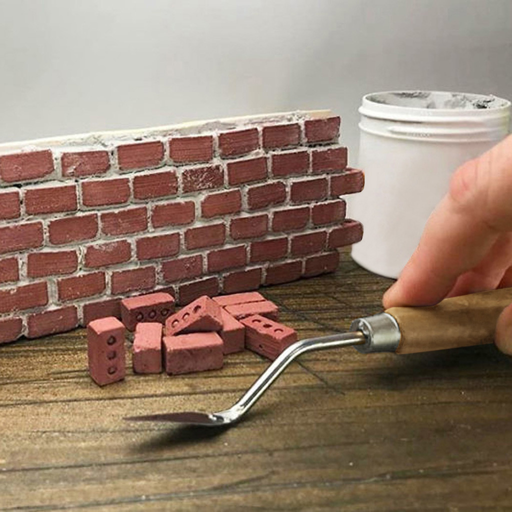 Mini Cement Bricks And Mortar Let You Build Your Own Tiny Wall Mini Bricks Toy For Children Classic Building Blocks Dropshipping