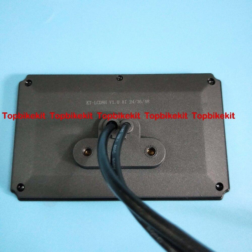 36V//48V KT LCD8H Color matrix Display Meter Control Panel for ebike KT LCD8H