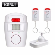 Home Security PIR MP Alert Infrared Sensor Anti-theft Motion Detector Alarm Monitor Wireless Alarm system+2 remote controller(China)