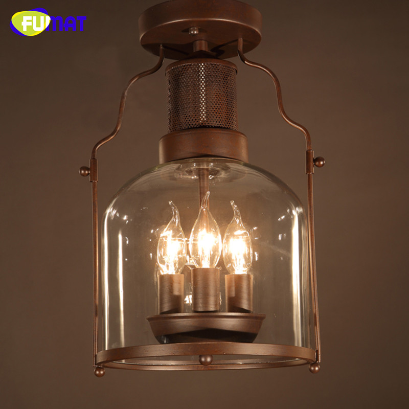 2021 Fumat Ceiling Lamp Industrial Metal Plafond Retro Ceiling Light Rustic Bedroom Vintage Lamps Antique Ceiling Lights Balcony From Goods520 178 92 Dhgate Com