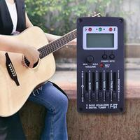 Guitar Pickup 5 Band EQ Tuner 94 X 46 X 20mm Ukulele Acoustic Guitar Pickups Musical