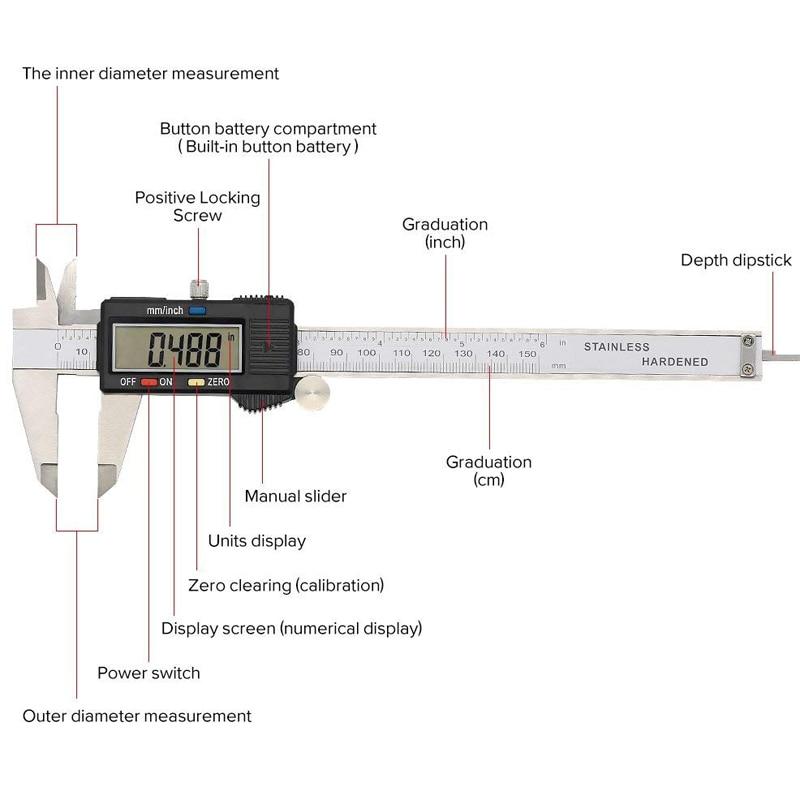 Diagram Of Digital Vernier Caliper Wiring Diagram