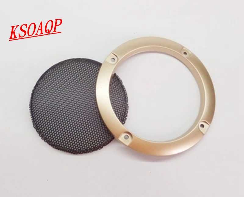Ksoaqp 10pcs 3 Inch 4 Inch Speaker Net Cover High Grade Car Home Mesh Enclosure Speaker Plastic Frame Metal Iron Wire Grilles Grille Grill Grill Cgrill Wire Mesh Aliexpress
