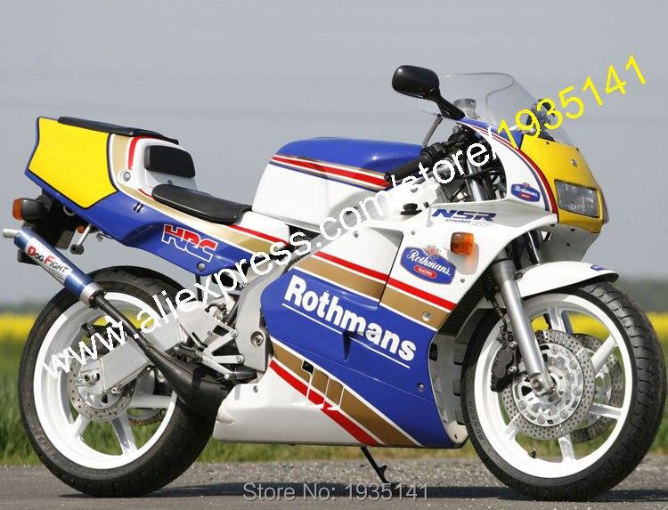 Горячие продаж,для Honda NSR250R MC21 1990 1991 1992 1993 НСР 250 р 90 91 92 93 Ротманс АБС мотоцикл Зализа (литья под давлением)
