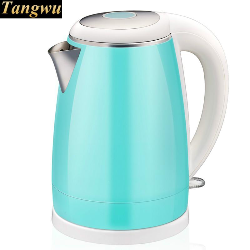 Electric kettle 304 stainless steel food grade boiling water teapot household electric kettle boiling pot food grade 304 stainless steel large capacity