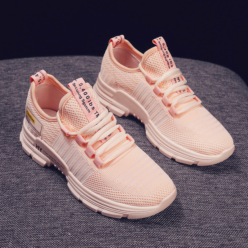 Comfortable Inner Ladies Casual Shoes 360 Degree Breathable Wicking Sports Shoes Women's Vulcanized Shoes Beautiful And Generous