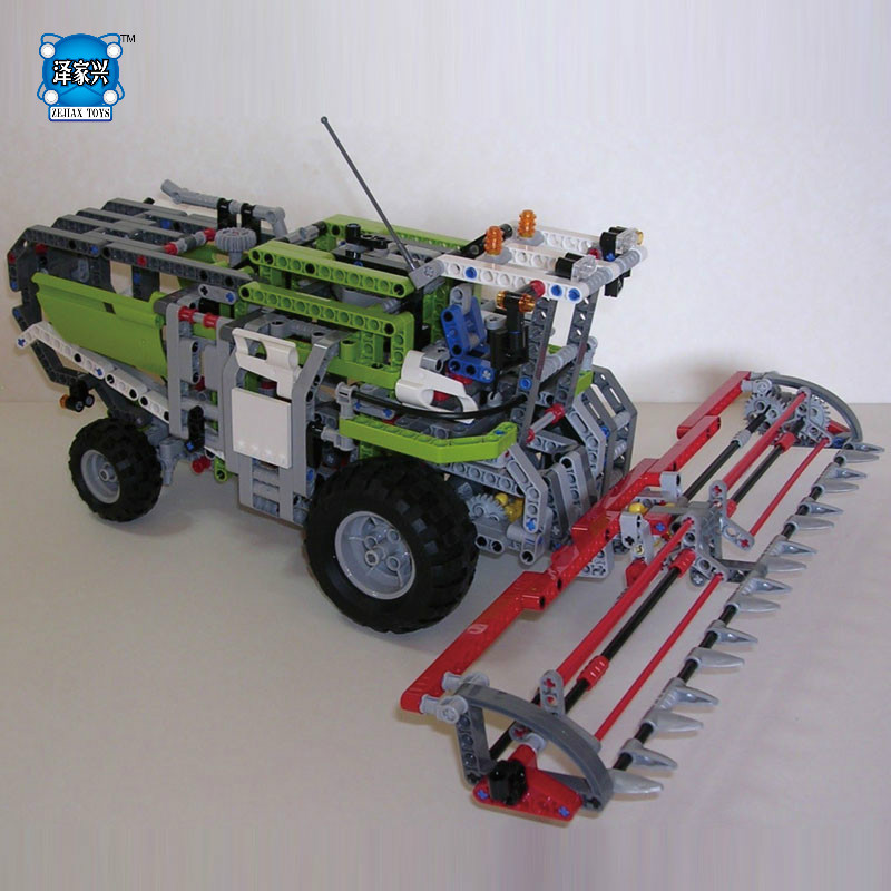 Lepins NEW 1107Pcs Genuine Technic Series The Combine Harvester Set Educational Building Blocks Bricks Toys Model Figures Gift star series war the rogue one at set st walker educational building blocks bricks toys compatible lepins diy model figures