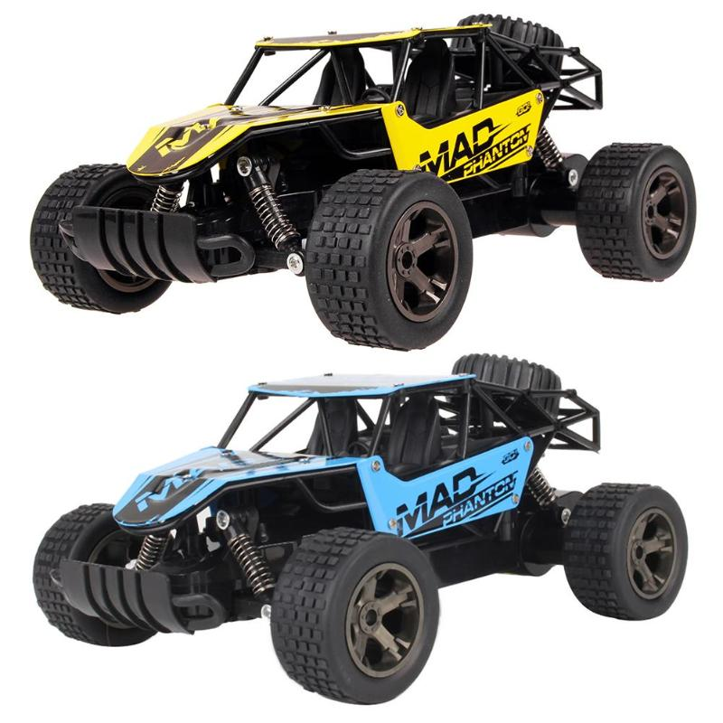 2.4G Alloy Remote Control Electric RC Car Rock Crawlers Off-Road Vehicles Model Toy Childrens Gifts