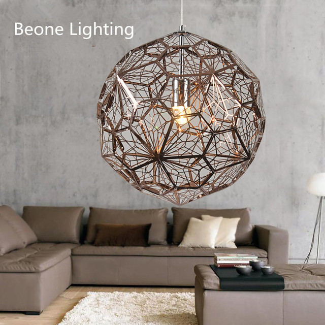Etch light web d60cm gold copper led stainless steel pendant lights etch light web d60cm gold copper led stainless steel pendant lights lamp suspension light dining room aloadofball Image collections