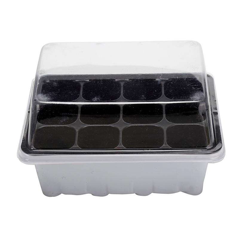 12 ячеек парнике Семья разведение комплект из 3 предметов распространения прорастание семян кассеты для рассады садовое домашнее растение г...