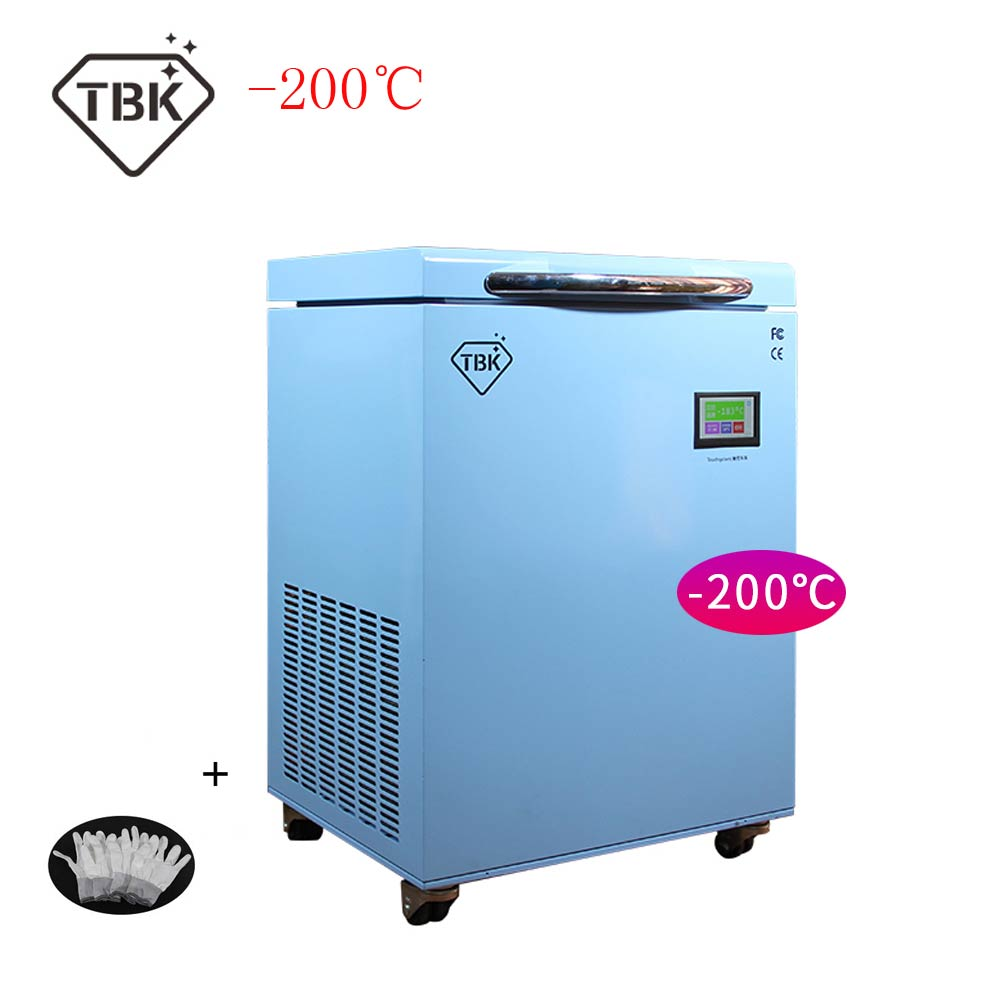 200C TBK 588A LCD Freezing Machine For Mobile Phone Repair Frozen Separator Instruments LCD Touch