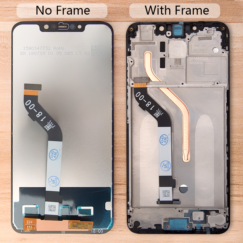 2246 *1080 For Xiaomi Pocophone F1 LCD Display Touch Screen Assembly Frame Digitizer For Xiaomi Pocophone F1 LCD Replacement