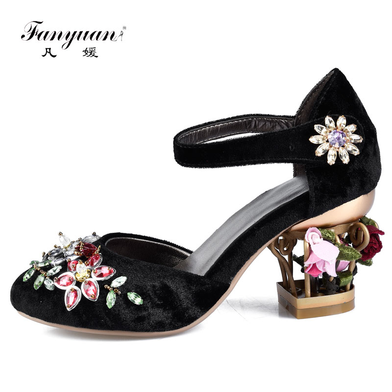 Buy bird cage pumps and get free shipping on AliExpress.com 6637f5660e40