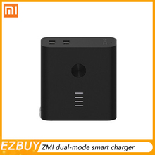 New ZMI dual-mode smart charger + Charging Po (5200) mobile power charging Po fast charging portable mini