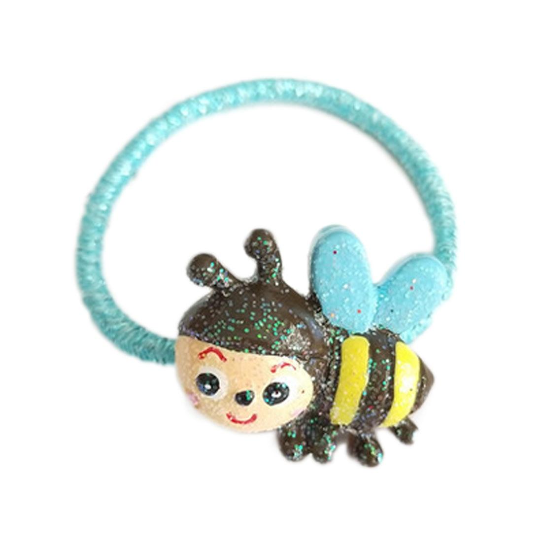 1 PCS Borboleta Bonito Dos Desenhos Animados Coelho Princesa Cocar Do Bebê Headwear Infantis faixas de Cabelo Elásticos Crianças Cordas