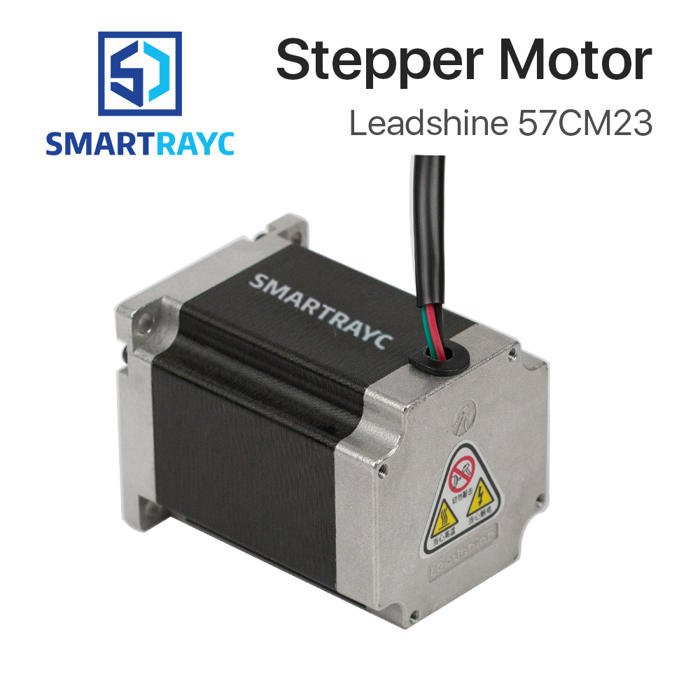 Smartrayc Leadshine 2 phase Stepper Motor 57CM23 for NEMA23 5A Length 76mm Shaft 8mmSmartrayc Leadshine 2 phase Stepper Motor 57CM23 for NEMA23 5A Length 76mm Shaft 8mm